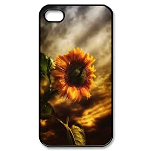 Sunflower Brand New Cover Case for Iphone 4,4S,diy case cover ygtg563113