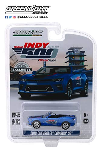 2018 Chevrolet Camaro SS Convertible Blue 102nd Indy 500
