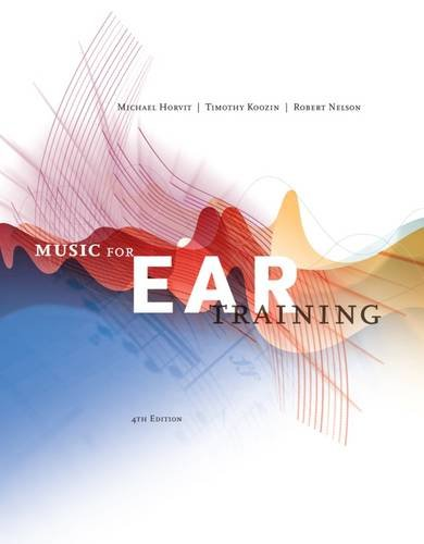 Music For Ear Training W/Access Card