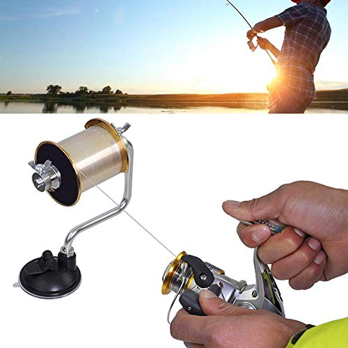 Outdoor Aluminum Fishing Line Winder Reel Spool Spooler Tackle Accessories Easy ()