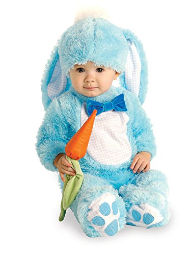 Rubie's Baby Handsome Lil Wabbit Costume, Blue, 12-18 -