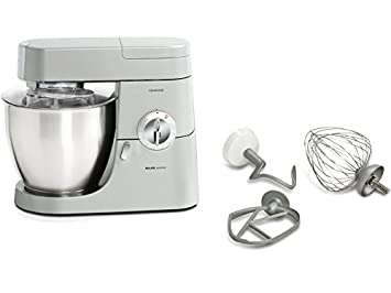 Kenwood KMM77010 - Batidora amasadora, 1200 W, color plateado: Amazon.es: Hogar