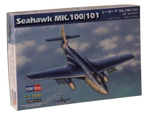 Hobby Boss Seahawk Mk.100/101 Airplane Model Building Kit by Hobby Boss