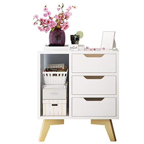 - Chest of Drawer Girls Bedroom Accessories Unique Modern Design Side Table for Bedroom Living Room Apartment with 3 Drawers 009