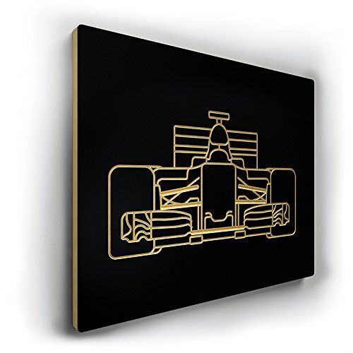 Linear Edge Formula 1 Car Engraving