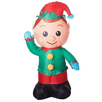 Holiday Time Christmas Elf Inflatable