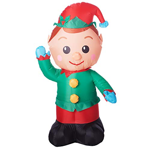 Holiday Time Christmas Elf Inflatable ()