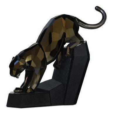 Swarovski Panther Figurine, Moroda