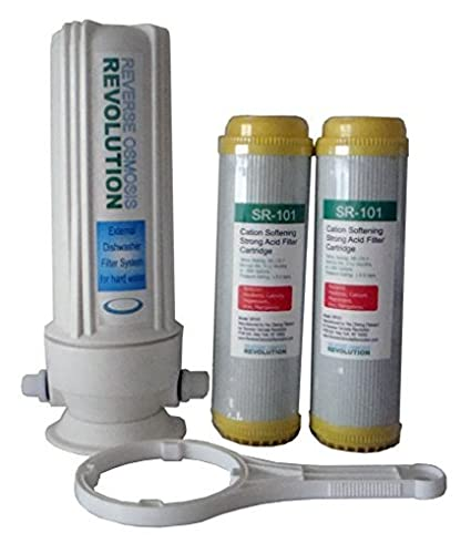 External Dishwasher Softener For Hard Water. Comes With 2 Of  10u0026quot;x2.5u0026quot