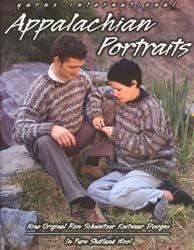 Appalacian Portraits 9 Original Ron Schweitzer Knitwear Designs in Pure Shetland Wool