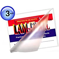3 Mil Hot Mini Letter Laminating Pouches 8-3/4 X 11-1/4 [Pack of 100] by LAM-IT-ALL