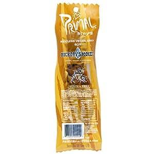 Primal Spirit Foods Primal Strips, Hickory Smoked Soy 24 strips