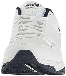 Avia  Men\'s Avi-Rival White/True Navy/Chrome Silver Athletic Shoe