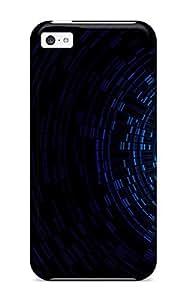 Iphone 5c Dual Monitors Zombie Print High Quality Tpu Gel Frame Case Cover