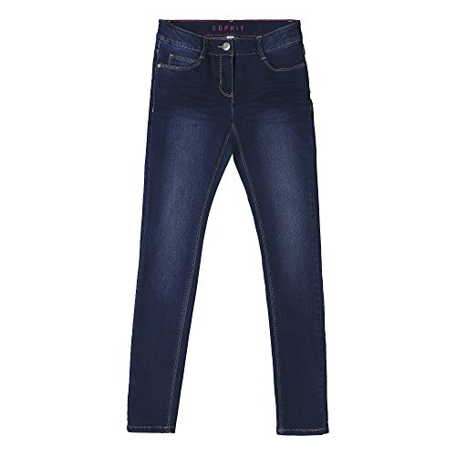 Esprit Permanent Denim, Jeans para Niñas Azul (Dark Indigo Denim 461)