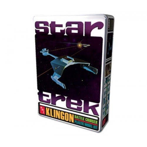 AMT Star Trek Klingon Battle Cruiser Tin, Special Edition (Special Edition Tin)