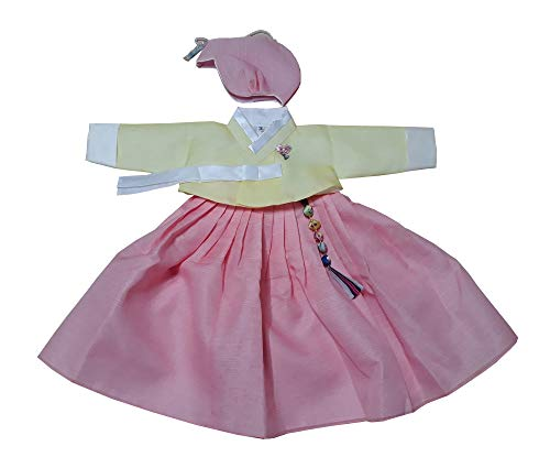 Traditional Korean Dress - Hanbok 3M-6M 100Day Hanbok Korean Traditional Dress Babies Girls Hanbok baga112