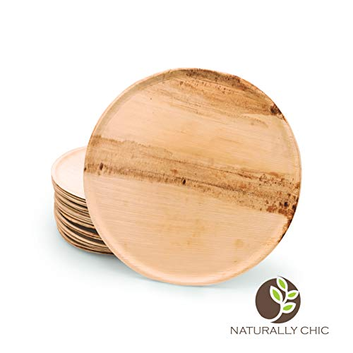 Naturally Chic Palm Leaf Compostable Serving Trays | 11