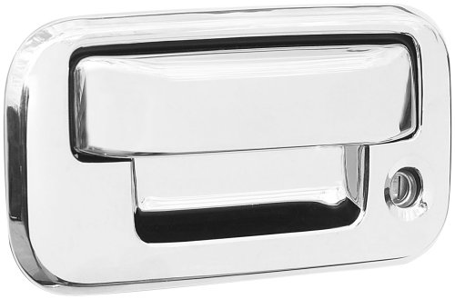 Exterior Accessories Billet Door Handles (Putco 401016 Chrome Trim Tailgate And Rear Handle Cover)