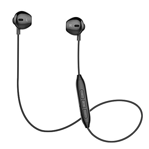 Bluetooth Headphones, V4.1 Magnetic Noise Cancelling Sweatproof Stereo Sport Wireless Earphones Earbuds with Mic for iPhone X/8/8 plus/7/6, Samsung S8/S7/S6 Note 8/7 and Android Smartphones