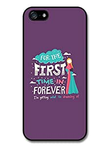 Frozen For The First Time in Forever Disney Animation Lyrics Case For Sam Sung Galaxy S4 I9500 Cover