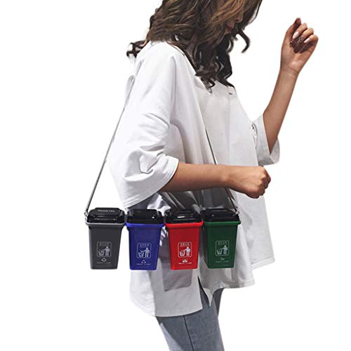 Lefthigh Garbage Sorting Bag Trash Can Bags Environmental Protection Bag, Unisex Waste Classification Bag Women Outdoor Shopping 4-in-1 Crossbody Bag 2019 New