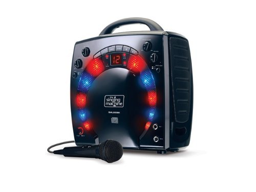 11 opinioni per Singing Machine SML283BK Impianto per Karaoke Portatile con Lettore CD-G e 3 CDG