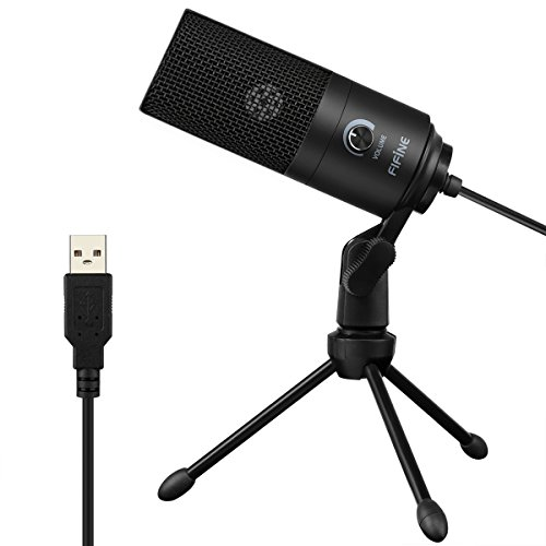 Usb Microphone Fifine Metal Condenser Recording Microphone For Laptop Mac Or Windows Cardioid Studio Recording Vocals Voice Overs Streaming Broadcast And Youtube Videos 669b Buy Online In Montenegro At Desertcart Productid 48398275