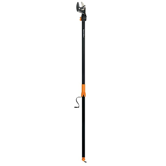 Fiskars EZ Reach Tree Pruning Stik with Rotating Head 5 Feet Long - Best for Compactness