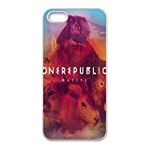 One Republic Native iPhone 4 4s Cell Phone Case White phone component RT_266022