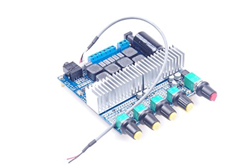 KNACRO TPA3116 Bluetooth 4.2 2.1 Subwoofer Amplifier Board DC12-24V HIFI Digital Amplifier Board 50W + 50W + 100W by KNACRO