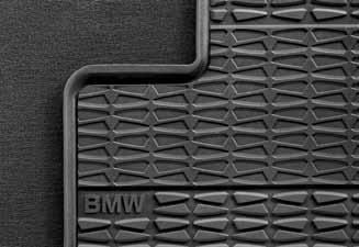 Bmw X3 Interior (BMW X3 F25 Genuine Factory OEM 51472164763-51472164764 Front and Rear All Season Floor Mats 2011 and later (complete set of 4 mats))