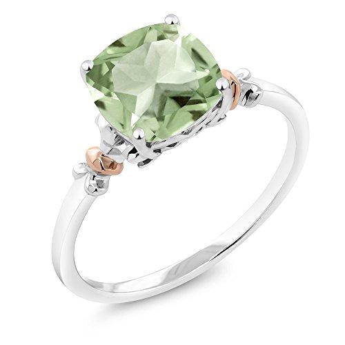 green amethyst gem - 4