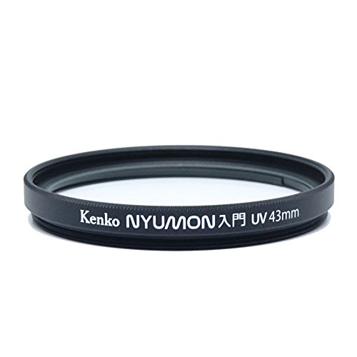 Ring 43mm (Kenko Nyumon Slim Ring 43mm UV Multi-Coated (MC) Filter, Black, compact (224349))