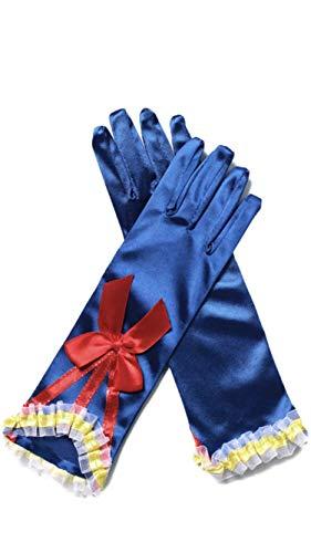 FashionModa4U Children's Gloves with Bow (Snow -