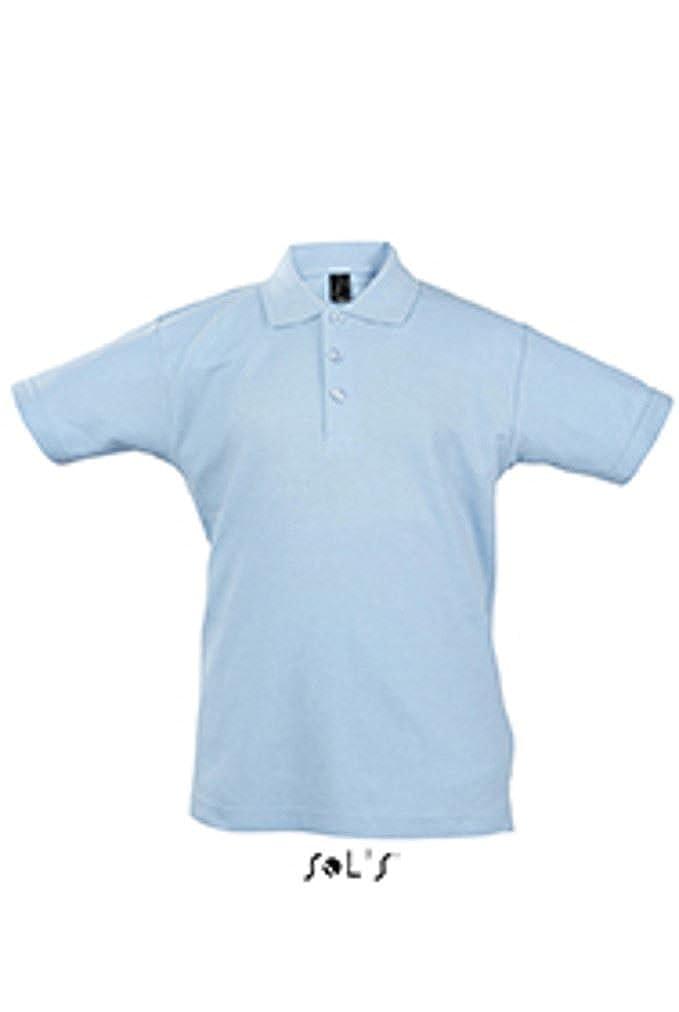 SOLS - Polo - para niño Azul azul celeste: Amazon.es: Ropa y ...