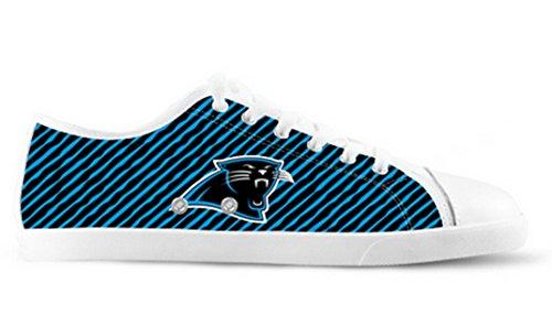 Panthers Logo Ladys Antislip Canvas Schoenen Panthers Canvas Schoenen02