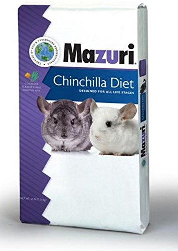 Mazuri Chinchilla Diet, 25 lb Bag