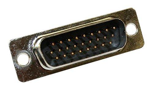 NORCOMP HD D SUB Connector 15POS 180-015-203L011 Receptacle
