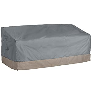 10. VonHaus Large Patio Bench Seat Cover