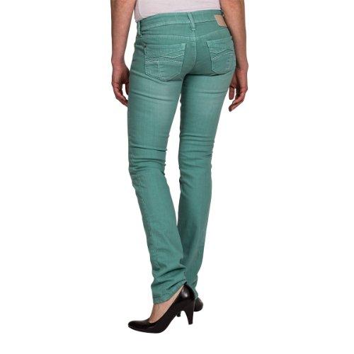 Timezone - Vaqueros para mujer Verde (Fresh Mint 3487)