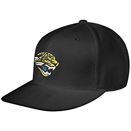 Amazon.com   Reebok Jacksonville Jaguars Black Sideline Flat Bill ... d1131648603
