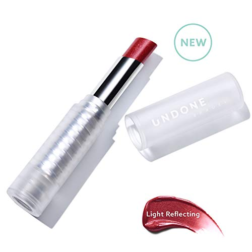 Light Reflecting, Lip Amplifying Lipstick. Sheer, Buildable, Hydrating Color - UNDONE BEAUTY Light On Lip. Aloe, Coconut & Volume Enhancing Pigment. Paraben, Vegan & Cruelty Free. ROYAL RED ()