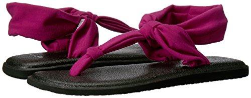 Sanuk Women's Sling Ella Violet Vivid Flop Yoga Flip fUArfx