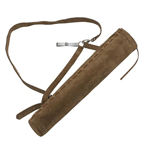 Traditional Arrow Chair - OMP Mountain Man Suede Side/Back Quiver with Hook