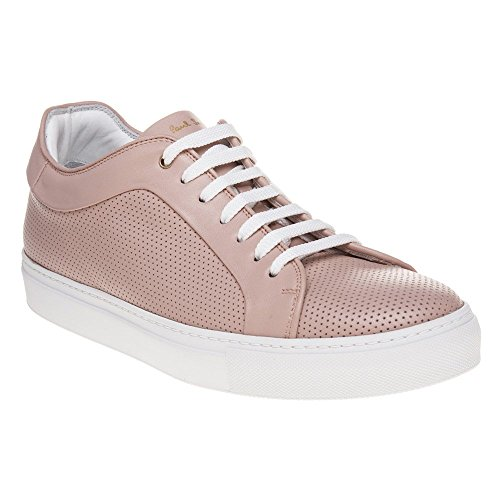Paul Smith Mens basso Sneaker Pink Perforated