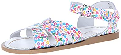 Salt Water Sandals by Hoy Shoe Original Sandal (Toddler/Little Kid/Big Kid/Women's), Floral, 3 M US Infant