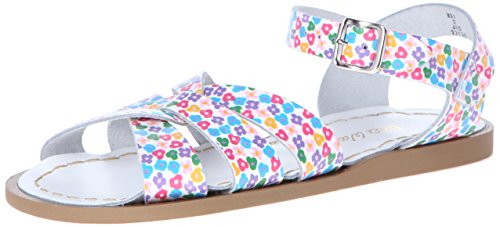 Salt Water Sandals by Hoy Shoe Original Sandal (Toddler/Little Kid/Big Kid/Women's), Floral, 6 M US Big Kid ()