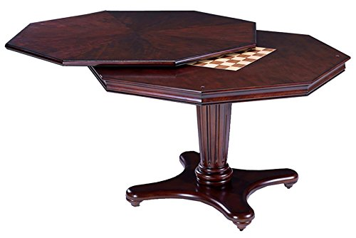 Hillsdale Furniture 6124GTB Ambassador Game Table, Medium Brown Cherry