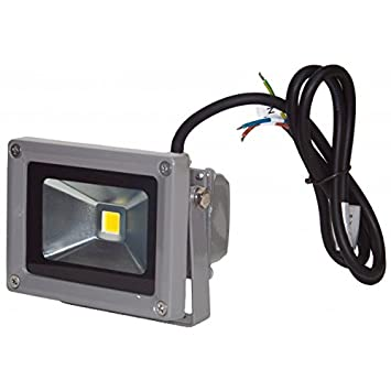 Proyector LED 10 W 12 V Blanco neutro IP65 exterior
